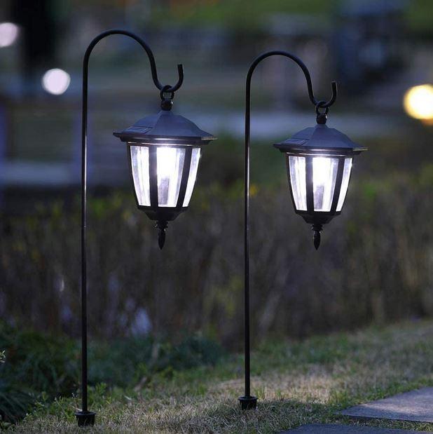 lampes solaires d'exterieur
