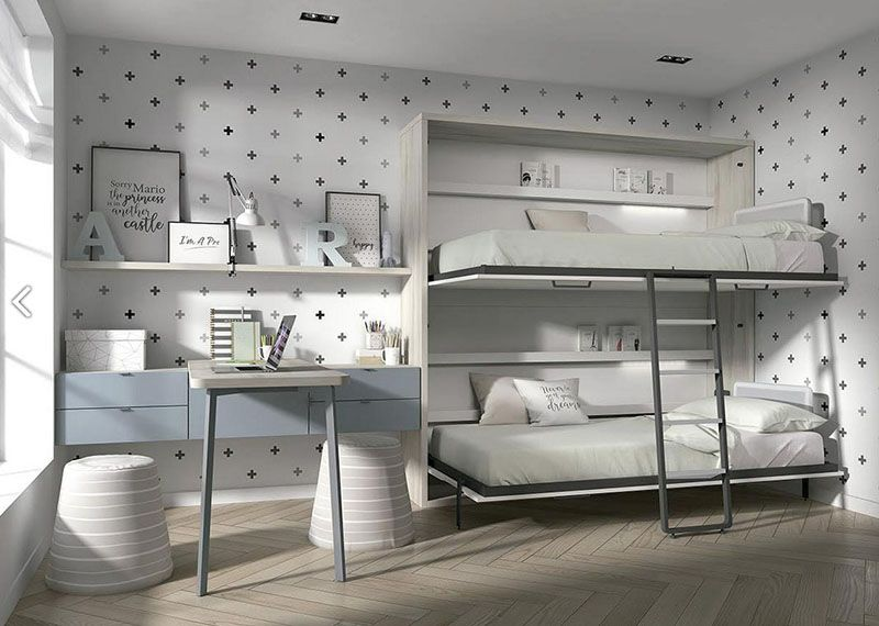 lits superposés escamotables